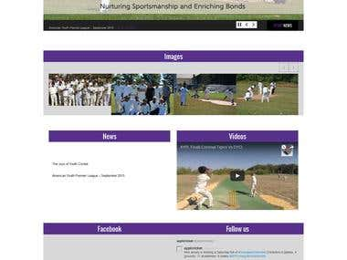 ayplcricket.org | Website Design and Development