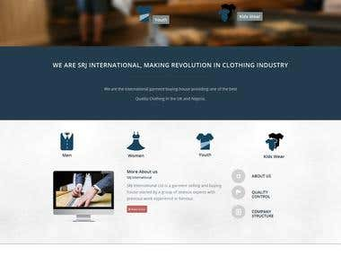 srjintl.com | Website Design and Development