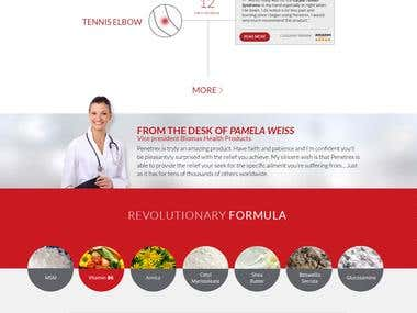 Website Design - Medical Site