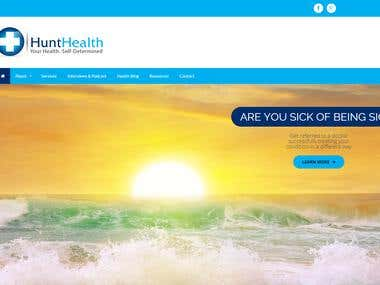 Website - Hunt Health