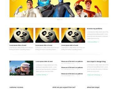 Premium Wordpress theme - Litefolio