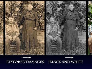 Photo Restoration & Colorized