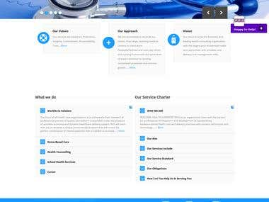Realcare Health Website