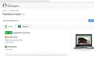 Improve Website Load Times