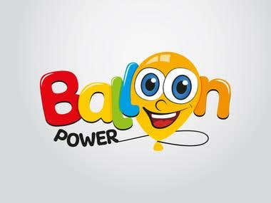 LOGO BALLOON POWER