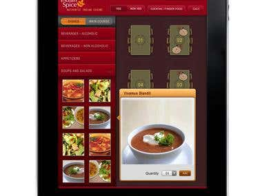 UX Design- Restaurant Menu