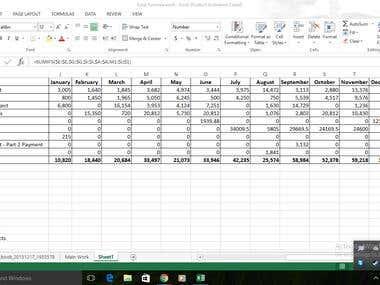 Create Excel Formula
