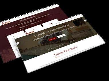 Tanveer Foundation - CMS Website