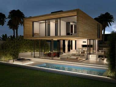 3d renderings Balance House