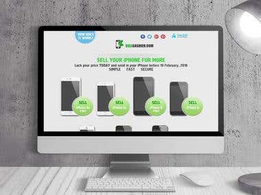 Ecommerce website development with buy back functionality