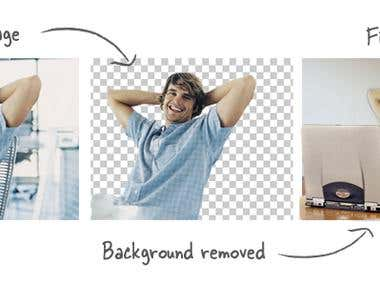 changing background