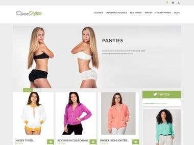 Magento online custom store
