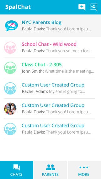 Teacher-Student chatting Application