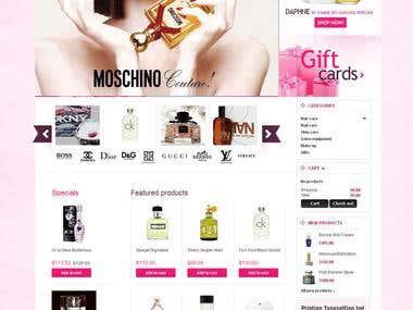 Perfume Web Site