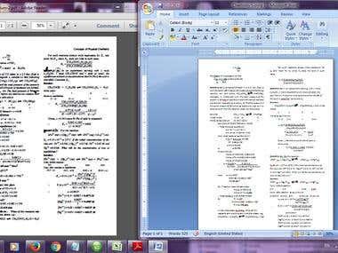 Chemistry Typing