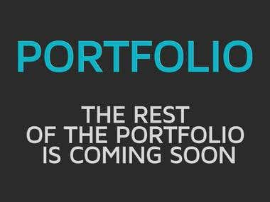The rest of the portfolio is coming soon