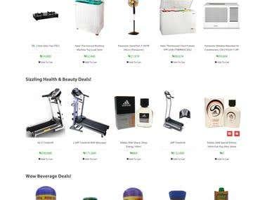 eCommerce Web Applcation