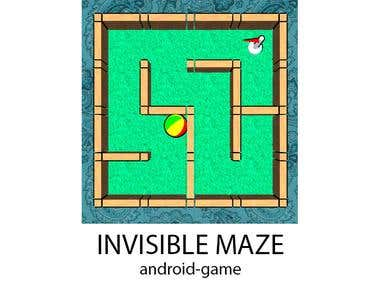 INVISIBLE MAZE - android game