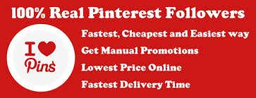 Pinterest Followers , Likes and  pin