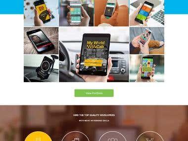 Lemosys Website design