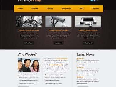Web development (Wordpress)