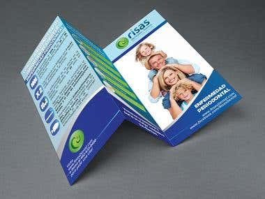 Brochure for Risas Dental