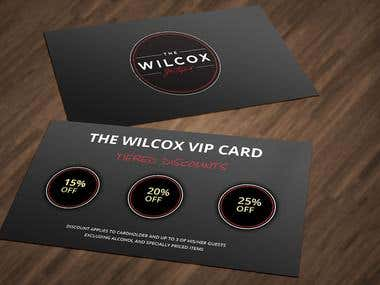 A Discount Card for WILCOX