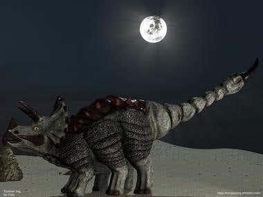 Dino Hybrid: Triceropion