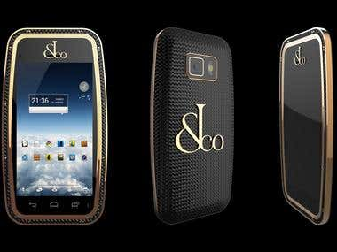 Concept Phone V1 for Jacob&CO