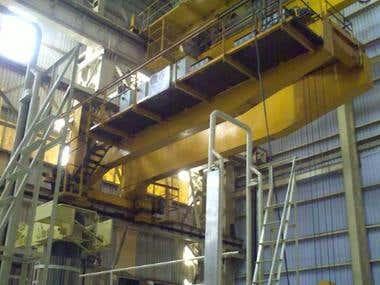 Design of 14 meter span 10Tonne Crane Girder