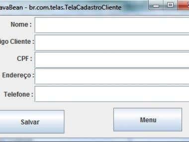 Criação de sistemas em Java