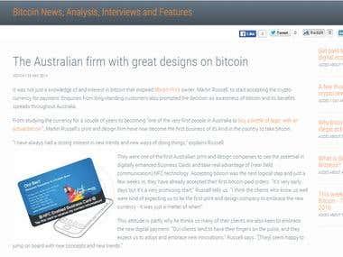 Bitcoin Press Release