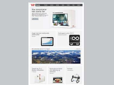 Website For TV Media