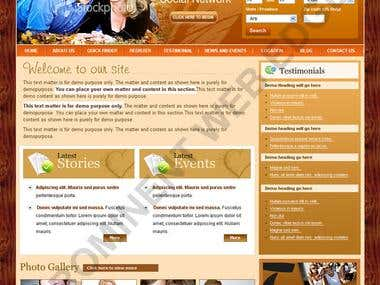 Templates OF Websites