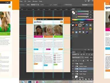 PSD Web templete Design