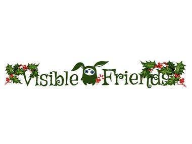 VISIBLE FRIENDS logo Xmas