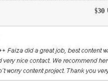 Best Client Review 1