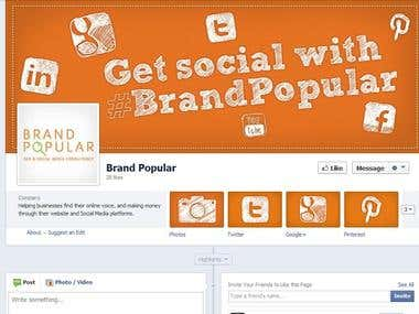 Brand Popular Facebook