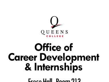 Banner Design for Queens College