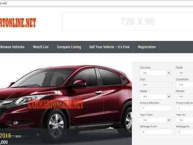 Website for Vechie Sale / Dealer / Classified
