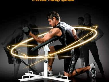 Poster design for Fitness Equipment Company
