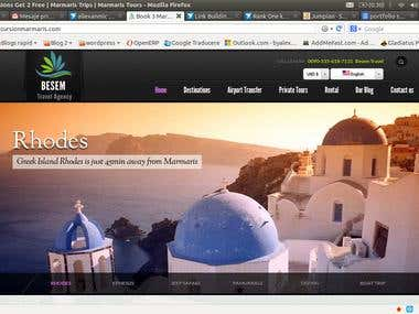 Seo Website and Link Building for excursionmarmaris.com
