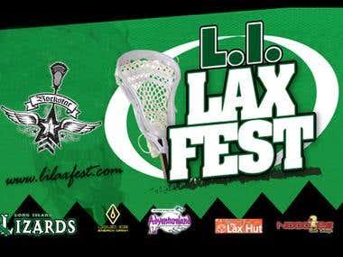 Flyer design for LI Lax Fest