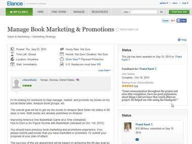 Amazon SEO/Amazon Products, Games, eBook Marketing
