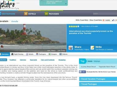 Holiday Portal-Connet Hotels, Tour Agencies & Tourists