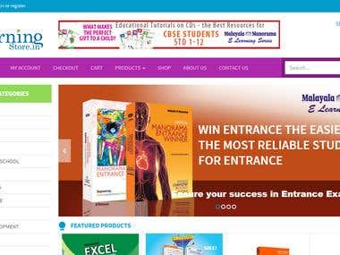 E-Com portal for Educational Products