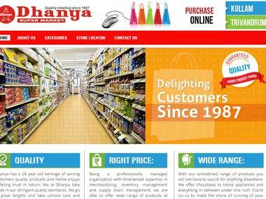 Grocery Ordering E-commerce Portal