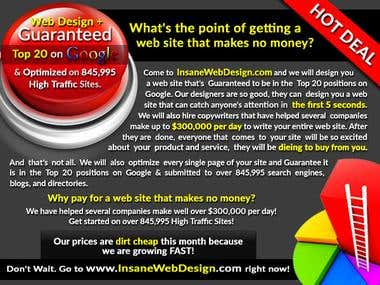 Banners to Google Ranking Company