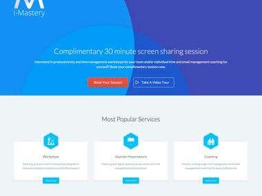 Wordpress Site i-mastery