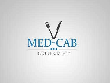 Med-Cab logo design